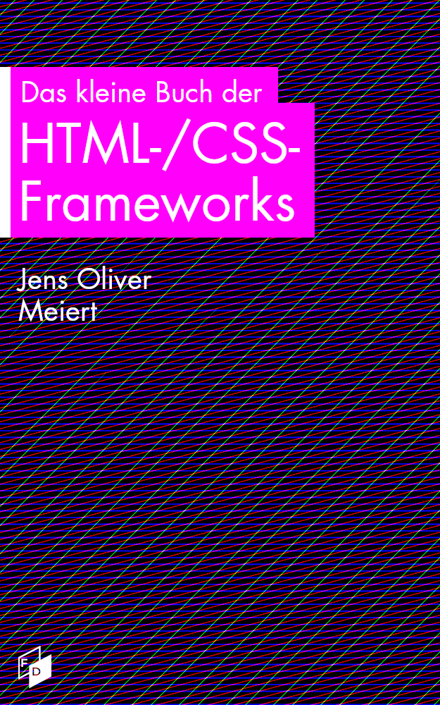 "The cover of ""The Little Book of HTML/CSS Frameworks."""