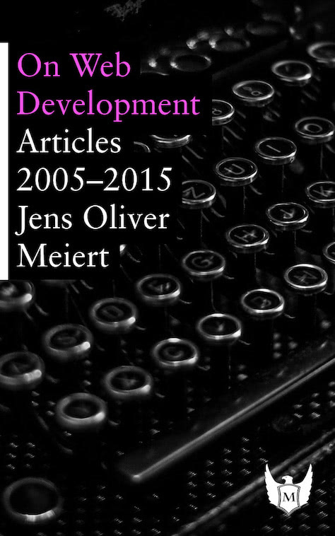 Cover: On Web Development.