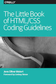 Cover: The Little Book of HTML/CSS Coding Guidelines.