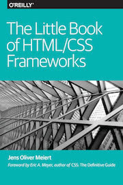 Cover: The Little Book of HTML/CSS Frameworks.