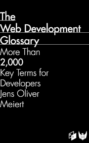 Cover: The Web Development Glossary.