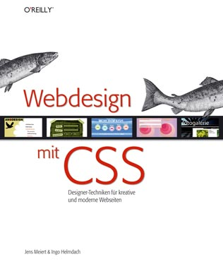 Cover: Webdesign mit CSS.